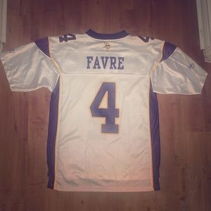 Medium Men's Vikings Favre Jersey NWOT